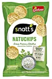 Grefusa Snatt's Natuchips Crema Fresca y Cebollino, 85g