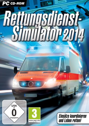 Rondomedia Rettungsdienst-Simulator 2014 - Juego (PC, Simulación, Windows, 3000 MB, 2000 MB, Dual-core processor from 2.5 GHz. Nvidia GeForce 7xxx or ATI Radeon HD 2000 Series)
