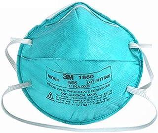 Vadomiguel 5 piezas 3M 1860 máscara médica protectora, sin mantenimiento, antipolvo