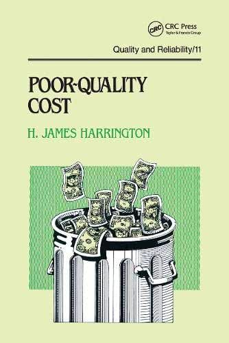 Poor-quality Cost: Implementing, Understanding, and Using the Cost of Poor Quality
