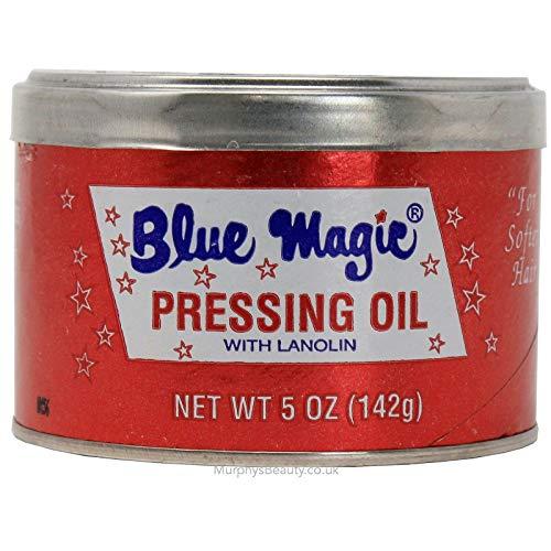 Blue Magic Hair Pressing Oil with Lanolin - 5 Oz