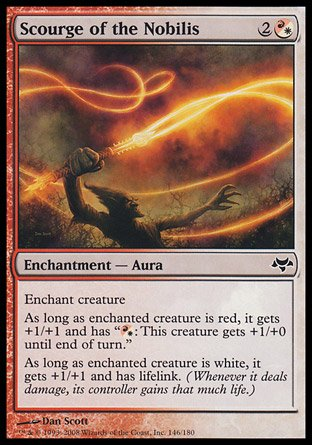Magic: the Gathering - Scourge of The Nobilis - Eventide - Foil