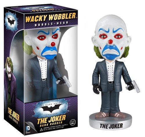 Funko - Bobble Head DC heroes Batman - The Dark Knight Joker Bank Robber 18cm - 0830395033938