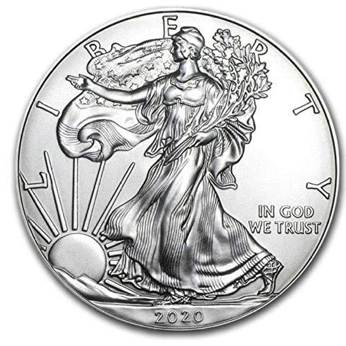 XCDJF 2020 US Freiheitsstatue Gedenkmünze 1 Unze Feinsilber Sammler amerikanische Münze