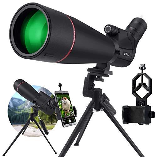 avis longue vue professionnel KEXWAXX Spotting Scope Sport Shooting Fond puissant 20-60X80mm IPX7 Film étanche Bak4FMC…