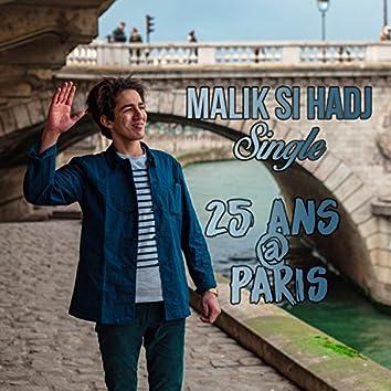 25 ans à Paris