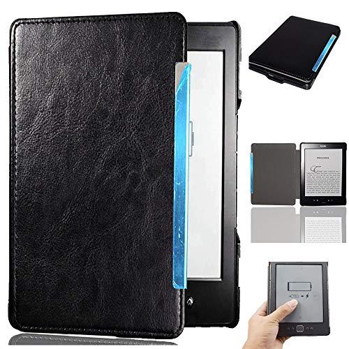 Afesar - Funda para Kindle 4 y Kindle 5 (Piel sintética, función Atril, función Atril)