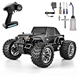HSP RC Truck 1:10 Nitro Power High Speed 60KM/H, 94108 RC Car 4WD Off Road Monster Truck Remote Control Car (94108BK)