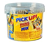 Leibniz PiCK UP Minis Mix in der Vorteilsdose - Großpackung mit Keksriegeln - einzeln verpackt -...