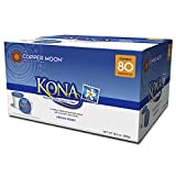 Copper Moon Coffee Single Serve Pods for Keurig 2.0 K-Cup Brewers, Kona Blend, Medium Roast Coffee with A Mellow Balanced Body and Nutty Finish, 80 Count