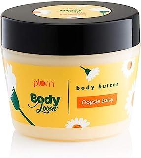 Plum BodyLovin' Oopsie Daisy Body Butter | Deep Moisturization | Dry To Very Dry Skin | 100% Vegan | Paraben, Silicone & M...