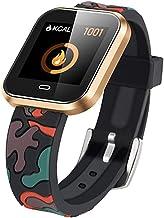 YZY Advanced Smart Watch, fitness armband tracker met hartslagmeter en multi-sportmodus, slanke armband met pedometer-horl...