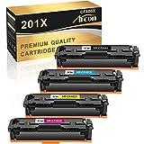 Arcon Cartucho de tóner compatible para HP 201X 201A CF400X CF400A MFP M277DW M252DW HP Color Laserjet Pro MFP M277DW M252DW MFP M277N M274N M252N M277c6 M277 M252 CF400X CFX 402X CFF. 403X