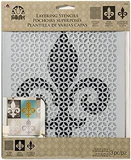 Best fleur de lis scroll stencil Reviews