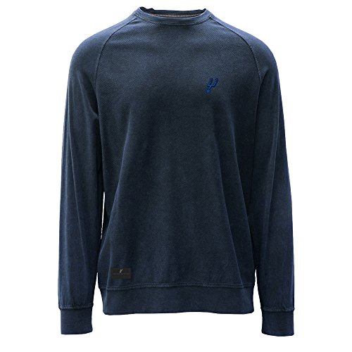 Levelwear LEY9R NBA San Antonio Spurs Adult Men Jasper Crew Legacy Jock Tab Shirt, Small, Charcoal image