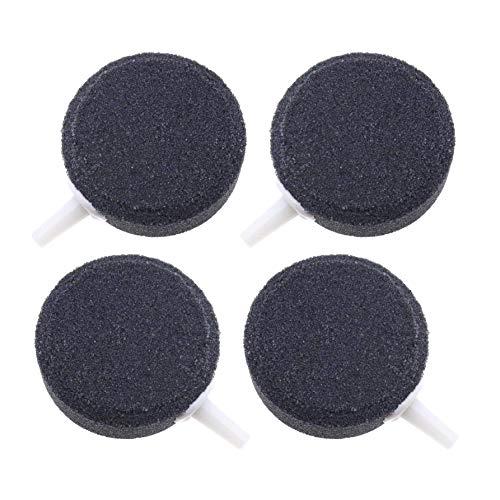 Dasket - Piedra de oxígeno hidropónica, diseño de burbujas de aire, color negro