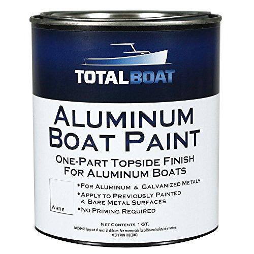 TotalBoat Aluminum Boat Paint (White, Quart)