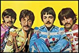 The Beatles Poster Lonely Hearts Club (62x93 cm) gerahmt
