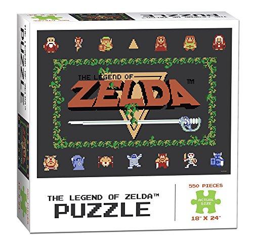 The Legend of Zelda Classic 550 Piece Puzzle