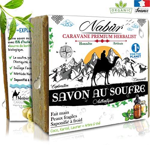 Nabür - Savon Soufre et Glycérine Végétal | Arbre...