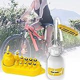 fllyingu Kit de Sangrado Freno Bicicleta Kit de Aceite Mineral Kit de Purga de Frenos Hidráulicos,Freno Herramientas de Reparación para Shimano, Magura, Tektro, Sram Serie