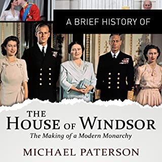 A Brief History of the House of Windsor cover art