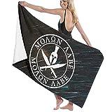 Dress rei Spartan Warrior Molon Labe toallas de baño de algodón de gran tamaño