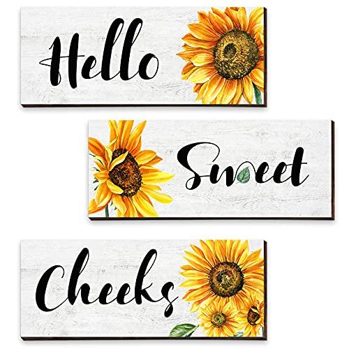 Sunflower Wooden Prints
