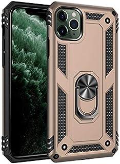 جراب هاتف واقٍ مضاد للصدمات مع حامل حلقي مضاد للصدمات لهاتف Samsung Galaxy M10 M20 M30 A40S A10S M30S A908 A90 5G (ذهبي لـ...