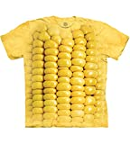The Mountain Corn On The Cob Adult T-Shirt, Yellow, Large
