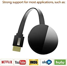 $25 » Wireless Display Dongle, WiFi Portable Display Adapter TV Projector, HDMI 1080P Digital TV Receiver, Support Airplay DLNA Miracast, Compatible with iOS/Android Smartphones/Windows/Mac/Laptop