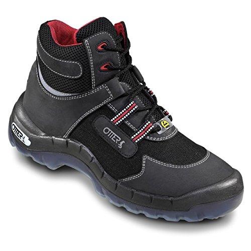 OTTER Sicherheits-Stiefel 93762 ESD Sicherheitsschuh Sicherheitsschuhe Hoch S2, Größe:48