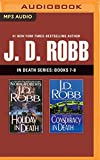 MP3 CD J. D. Robb - In Death Series: Books 7-8: Holiday in Death, Conspiracy in Death Book