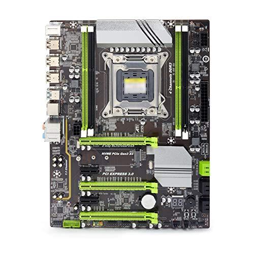 Diecast master Placa base de ordenador para Atermiter X79 Turbo placa base LGA2011 ATX USB 3.0 SATA3 PCI-E NVME M.2 SSD REG ECC PC3 DDR3 memoria Xeon E5 PC Gaming Desktop Motherboard