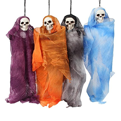 170cm Light Up Eye Hanging Ghost Prop Halloween Haunting Ghoul Party Decoration