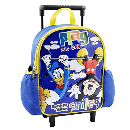 Trolley Rucksack | 27 x 22 x 10 cm | Micky Maus | Mickey Mouse | Play All Day