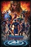 1art1 Avengers Poster et Cadre (Plastique) - Endgame, Whatever It Takes (91 x 61cm)