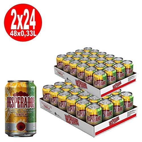 2 x Desperados Tequila Bier 24x 0,33L = 48 Dosen 5,9% Vol.-_EINWEG