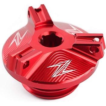 Bouchon d/'huile moteur magn/étique pour moto en aluminium CNC Pour Yamaha et Kawasaki BJ Global
