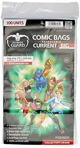 Protege y almacena Comic Books hasta 178x 268mm Extra alta claridad 100% el almacenamiento seguro