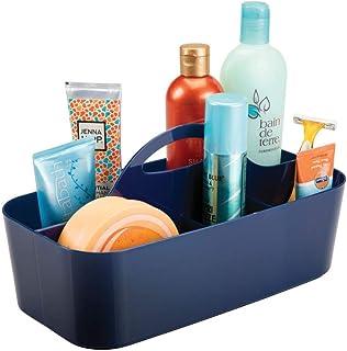 mDesign Corbeille de Douche avec 11 Compartiments – bac de Rangement pour Douche et Salle de Bain – Organisation de shampo...
