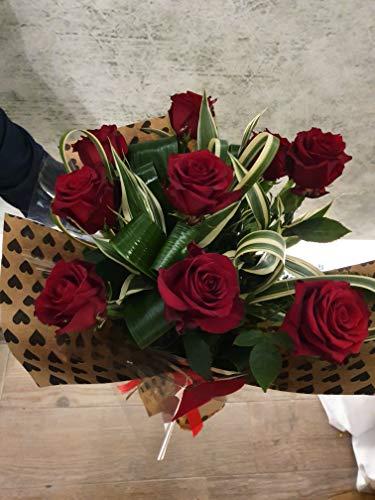 fiori Mazzo Misti, o Rose Rosse, freschi