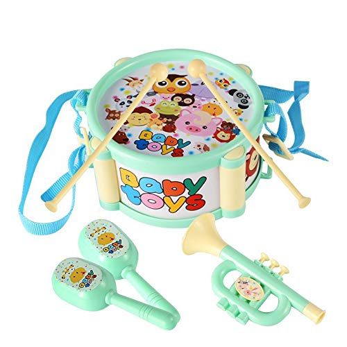 SurToys Toddler Musical Instruments Toys, Kids Drum Set,...