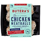 Butera's Original Chicken Meatballs, 12 Oz. (12 Fully Cooked Meatballs) BUY 4, GET 1 FREE!