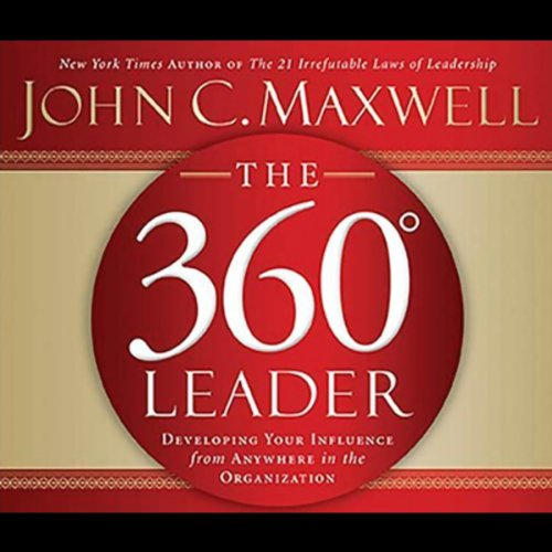The 360-Degree Leader audiobook cover art