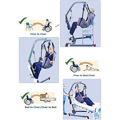 51HnoO4sKeL - WLKQ Cinturón de Transferencia médica de elevación - Grúa de Paciente - Paciente Cinturón De Transferencia para Bariátrico, Enfermería,Anciano, Discapacitado, Cuerpo Completo Y Postrado En Cama