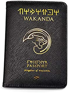 Passport Cover Black Panther Passport Case Travel Cover The Passport Asgard Passport Holder (Wakada passport)