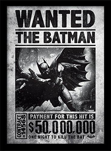 DC Comics Batman Arkham Origins - Stampa incorniciata, 30 x 40 cm