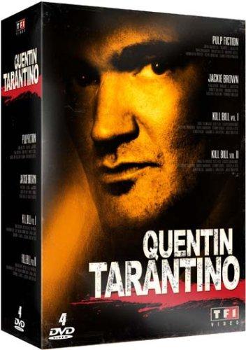 Quentin Tarantino - Coffret - Pulp Fiction + Jackie Brown + Kill Bill Vol. 1 + 2 [Francia] [DVD]