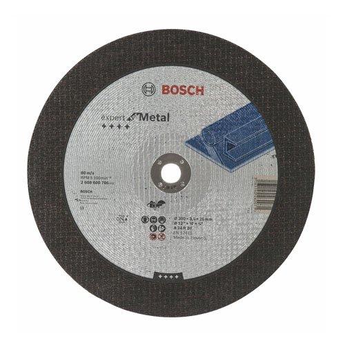 Bosch Professional 2608600706 slijpschijf recht metaal A 24 R BF, 300 mm, 20 mm, 3,5 mm